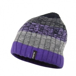 Водонепроницаемая шапка Dexshell, фиолетовый градиент